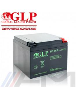 Акумулаторна тягова батерия GLP AGM - 26Ah 12V