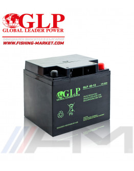 Акумулаторна тягова батерия GLP AGM - 40Ah 12V