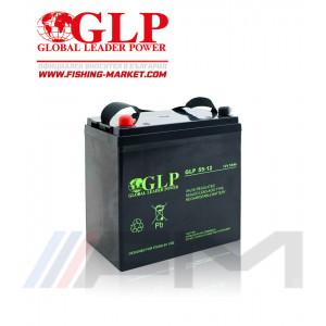 Акумулаторна тягова батерия GLP AGM - 55Ah 12V