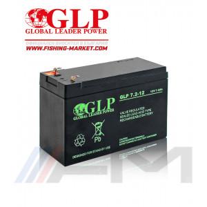 Акумулаторна тягова батерия GLP AGM - 7.2Ah 12V