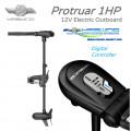 "HASWING Електрически безчетков двигател Protruar 1.0 HP / 35"" 12V FW/SW"