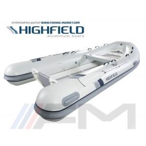 HIGHFIELD - RIB надуваема лодка с алуминиево дъно и кил  Classic CL 380 BLT