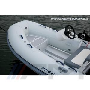HIGHFIELD - Конзола за дистанционно управление със задна седалка FCT 6 White Ultraflex Kit