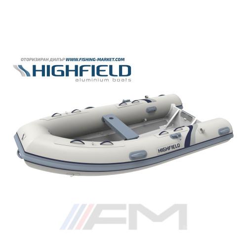 HIGHFIELD - RIB надуваема лодка с алуминиево дъно и кил  Ultralite UL 340