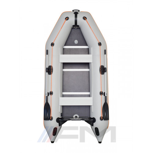 KOLIBRI - Надуваема моторна лодка с твърдо дъно и надуваем кил KM-330D