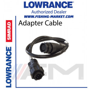 LOWRANCE xSonic Tranducer Adapter Cable - Адапторен кабел за сонда от 9 pin към 7 pin