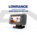 LOWRANCE Hook2-4x Сонар с Bullet сонда с широк лъч 200 kHz - BG Menu