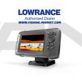 LOWRANCE Hook2-5 Combo Сонар и GPS със SplitShot сонда с широк лъч 200 kHz/Hi Chirp/455/800 kHz - BG Menu + карта