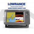 LOWRANCE Hook2-7 Combo Сонар и GPS със SplitShot сонда с широк лъч 200 kHz/Hi Chirp/455/800 kHz - BG Menu + карта