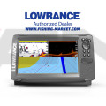 LOWRANCE Hook2-9 Combo Сонар и GPS със SplitShot сонда с широк лъч 200 kHz/Hi Chirp/455/800 kHz - BG Menu + карта