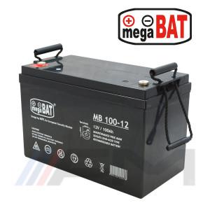 Акумулаторна тягова батерия MEGABAT AGM - MB 100Ah 12V