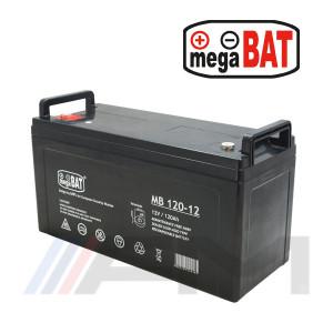 Акумулаторна тягова батерия MEGABAT AGM - MB 120Ah 12V