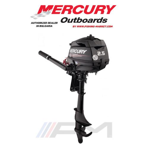 MERCURY Извънбордов двигател F2.5 MH - къс ботуш