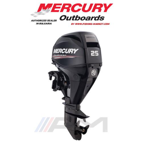 MERCURY Извънбордов двигател F25 E EFI RC - къс ботуш