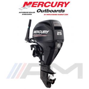 MERCURY Извънбордов двигател F25 MH EFI - къс ботуш