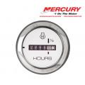MERCURY Cruiselog Gauge - Моточасовник с хромирана рамка