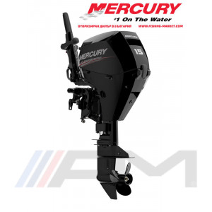MERCURY Извънбордов двигател F15EH EFI - къс ботуш
