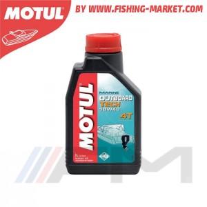 MOTUL Outboard Tech 4T 10W40 - Моторно масло за 4-тактов извънбордов двигател - 1 л.