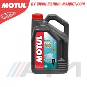 MOTUL Outboard Tech 4T 10W40 - Моторно масло за 4-тактов извънбордов двигател - 5 л.