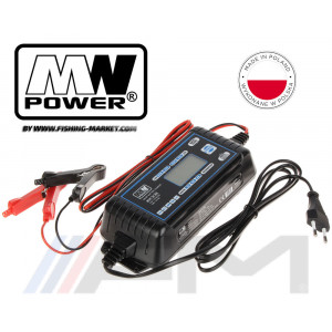 Зарядно устройство MW Power Electronic Smart Battery Charger SC8E - 12V/24V - 8.0A