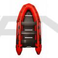 ПРОМО ПАКЕТ - Надуваема моторна лодка с твърдо дъно и надуваем кил OMEGA 385 K Verso PFA RT PT / Извънбордов двигател TOHATSU MFS 15E S EFI - къс ботуш