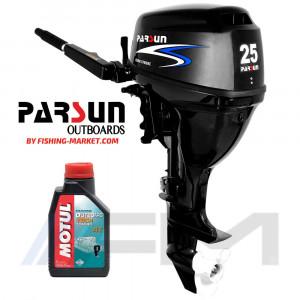 PARSUN Извънбордов двигател F25 BMS - къс ботуш