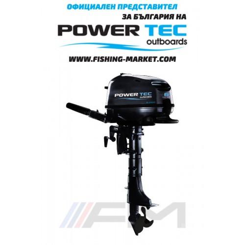 POWERTEC Извънбордов 4-тактов двигател FPP6 AMHS - къс ботуш