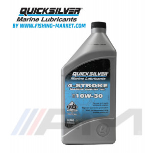 QUICKSILVER 4-Stroke Outboard Oil 10W30 - Моторно масло за 4-тактов извънбордов двигател - 1 л.