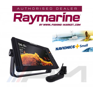 RAYMARINE Element 12HV GPS с 4 в 1 HyperVision 3D сонда и карта NAVionics+ Small / BG Menu