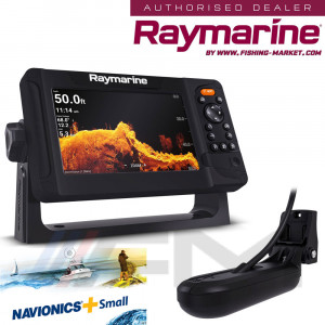 RAYMARINE Element 7HV GPS с 4 в 1 HyperVision 3D сонда и карта NAVionics+ Small / BG Menu