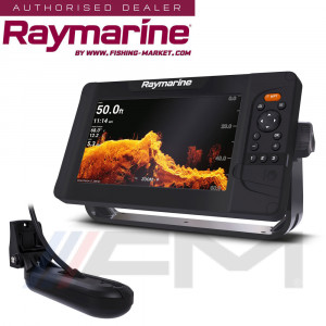 RAYMARINE Element 9HV GPS с 4 в 1 HyperVision 3D сонда / BG Menu