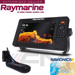 RAYMARINE Element 9HV GPS с 4 в 1 HyperVision 3D сонда и карта NAVionics+ / BG Menu
