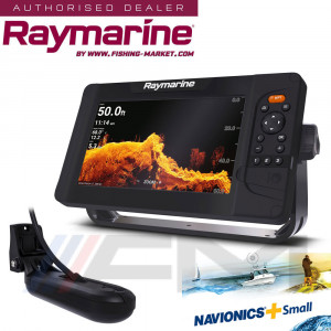 RAYMARINE Element 9HV GPS с 4 в 1 HyperVision 3D сонда и карта NAVionics+ Small / BG Menu