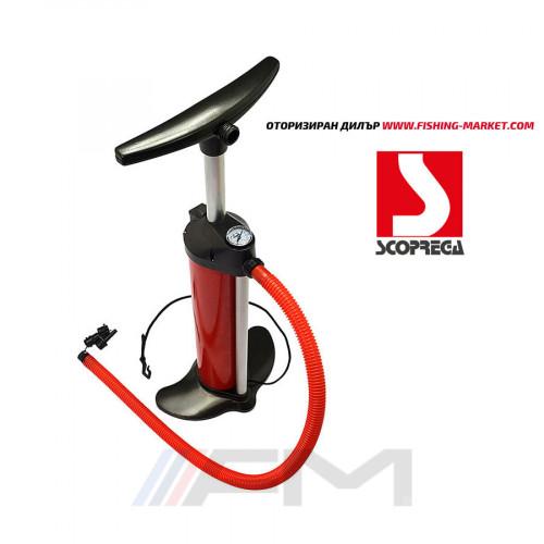 SCOPREGA Ръчна помпа с двойно действие и манометър - Bravo 110 2х2500сс 1 bar