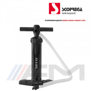 SCOPREGA Ръчна помпа с двойно действие и манометър - GM 4 XS 2х1100сс 2000 mbar