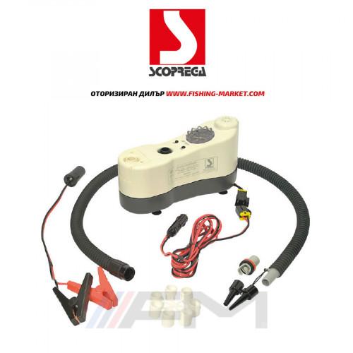 SCOPREGA Електрическа помпа с манометър - Bravo GE BTP 12V 1 bar, 120-420 lt / min