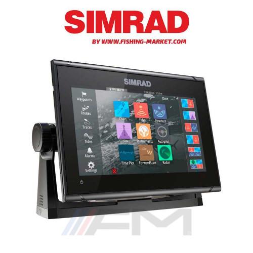 SIMRAD GO9 XSE Combo - Цветен сонар с GPS без сонда / BG Menu