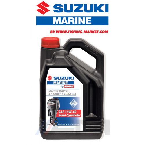 SUZUKI Marine 4-stroke Engine Oil 10W-40 - Моторно масло за 4-тактов извънбордов двигател - 5 л.