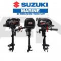 SUZUKI Извънбордов двигател DF2.5 L - дълъг ботуш