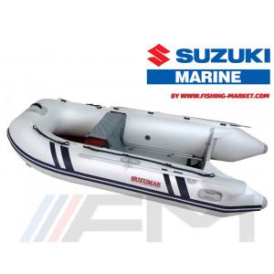 SUZUKI - Надуваема моторна лодка с алуминиево дъно и надуваем кил Suzumar DS 320 AL