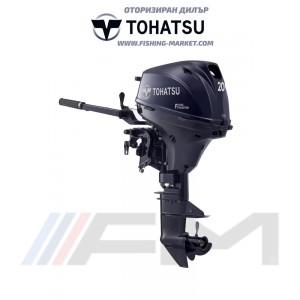 TOHATSU Извънбордов двигател MFS 20E EFS EFI - къс ботуш