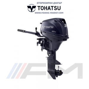 TOHATSU Извънбордов двигател MFS 20E S EFI - къс ботуш