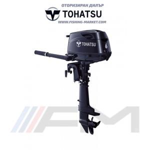 TOHATSU Извънбордов двигател MFS 6C SS - къс ботуш
