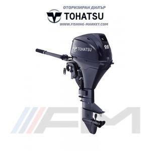TOHATSU Извънбордов двигател MFS 9.8B3 S - къс ботуш