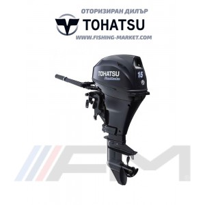 TOHATSU Извънбордов двигател MFS 15E EFS EFI - къс ботуш