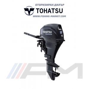 TOHATSU Извънбордов двигател MFS 15E S EFI - къс ботуш