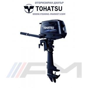 TOHATSU Извънбордов двигател MFS 6C SL - дълъг ботуш