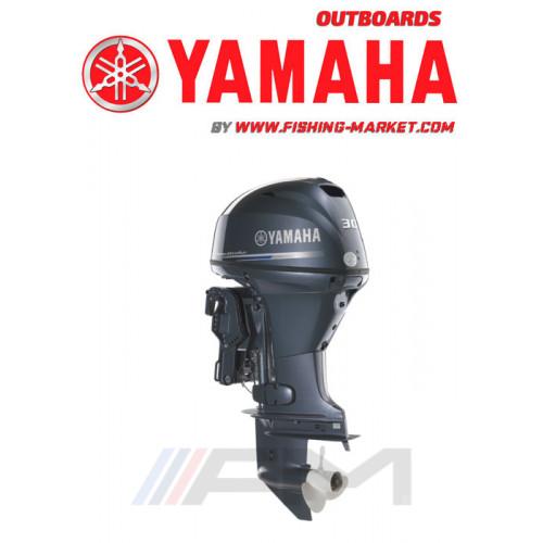 YAMAHA Извънбордов двигател F30 BETL - дълъг ботуш LAN B