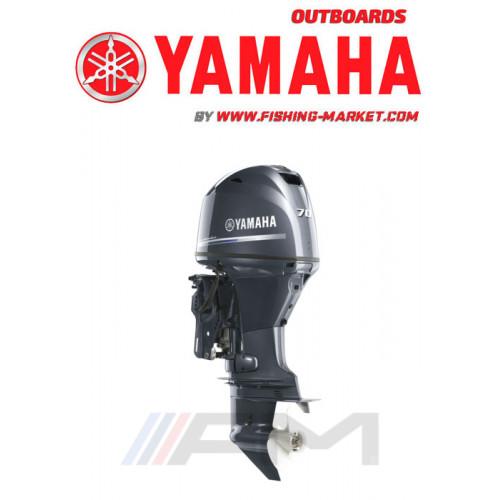 YAMAHA Извънбордов двигател F70 AETL - дълъг ботуш LAN A