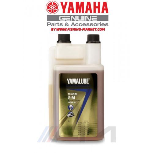 YAMALUBE TC-W3 RL 2-M Super 2 Stroke Engine Oil - Моторно масло за 2-тактов извънбордов двигател - 1 л.